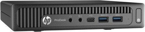 HP ProDesk 600 G2 DM | Intel® Pentium G4400T | 8 GB | 256 GB | Windows 10 Pro | Mini PC | Intel 4th Gen