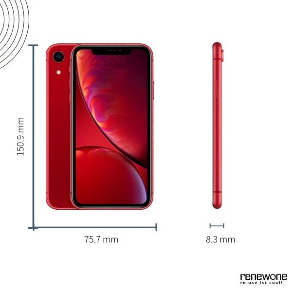Apple iPhone XR   64 GB   rot   Sehr gut
