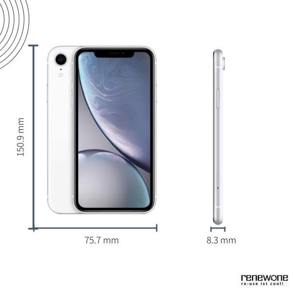 Apple iPhone XR   128 GB   weiß   Wie neu