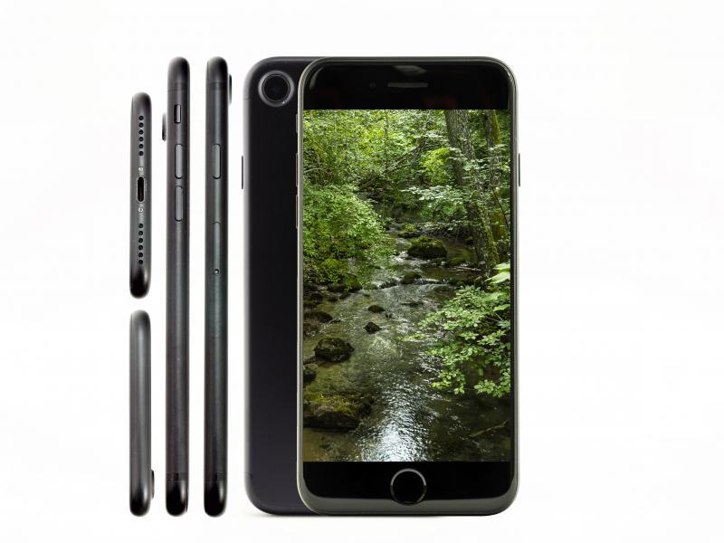 Apple iPhone 7   128 GB   schwarz   Wie neu