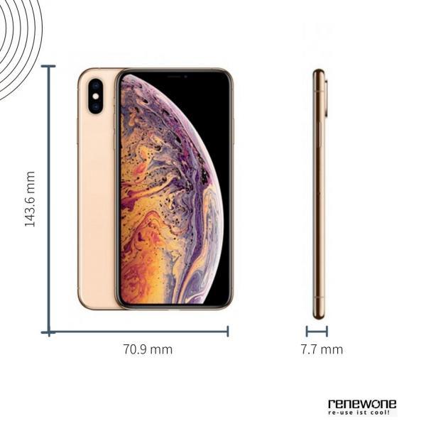Apple iPhone XS   64 GB   gold   Wie neu