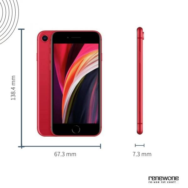 Apple iPhone SE (2020) | 128 GB | rot | Wie neu